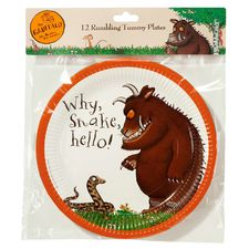 The Gruffalo: Gruffalo 12 Rumbling Tummy Plates