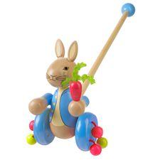 Peter Rabbit: Peter Rabbit Wooden Push Along