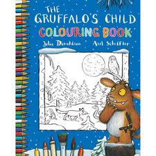 The Gruffalo: The Gruffalo's Child Colouring Book (Paperback)