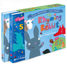 Julia Donaldson: The Singing Mermaid and The Rhyming Rabbit board book gift slipcase