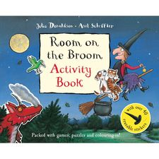 Donaldson and Scheffler: Room on the Broom Activity Book (Paperback)