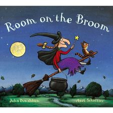 Donaldson and Scheffler: Room on the Broom (Paperback)