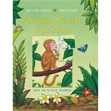 Donaldson and Scheffler: Monkey Puzzle Jigsaw Book (Hardback)