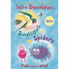 Julia Donaldson: Swallows and Spiders - Blue Banana Bind Up (Paperback)