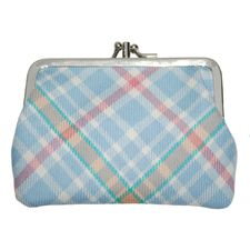 Peter Rabbit: Peter Rabbit Tartan Double Medium Purse