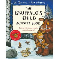 The Gruffalo: The Gruffalo's Child Activity Book (Paperback)