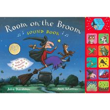 Room on the Broom: Room on the Broom Sound Book (Hardback)