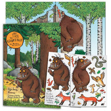 The Gruffalo: Gruffalo Sticker Scene With Stickers