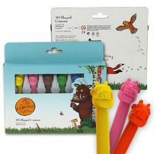 The Gruffalo: Gruffalo 3D Shaped Crayons