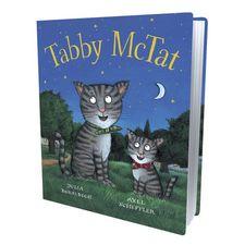 Donaldson and Scheffler: Tabby McTat (Board Book)