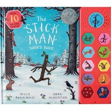 Donaldson and Scheffler: The Stick Man Sound Book (Hardback)