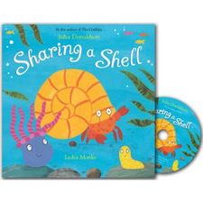 Julia Donaldson: Sharing a Shell (Paperback and CD)