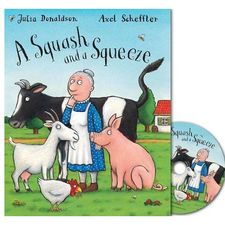 Donaldson and Scheffler: A Squash and a Squeeze (Paperback and CD)
