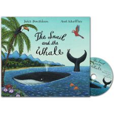 Donaldson and Scheffler: The Snail and the Whale (Paperback and CD)