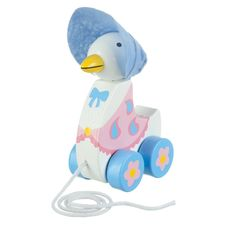 Jemima Puddle-duck: Jemima Puddle-Duck Wooden Pull Along