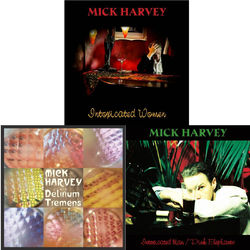 Mick Harvey: Intoxicated Women, Delirium Tremens (Signed) + Intoxicated Man / Pink Elephants CD Bundle