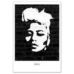 Emeli Sande: Emeli Silhouette Signed Litho Print
