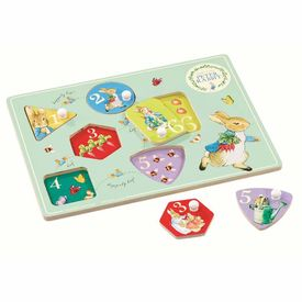 Peter Rabbit: Peter Rabbit Peg Puzzle