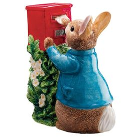 Peter Rabbit: Peter Rabbit Posting a Letter - 17cm Money Bank
