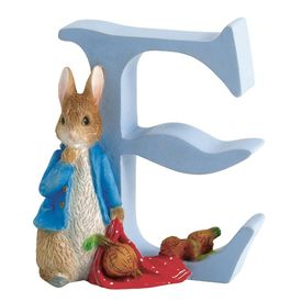 Peter Rabbit: Alphabet Letter E - Peter Rabbit with Onions