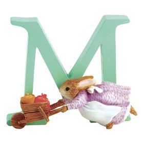 Peter Rabbit: Alphabet Letter M - Cecily Parsley