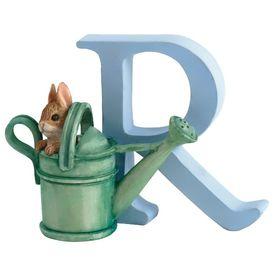 Peter Rabbit: Alphabet Letter R - Peter Rabbit in Watering Can