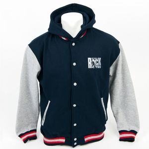 We Will Rock You: We Will Rock You Baseball-Jacke mit Kapuze
