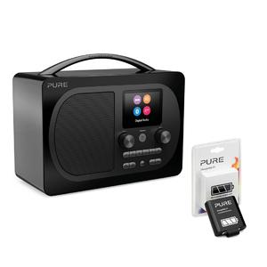 Pure: Evoke H4 Prestige Edition, Black, EU/UK + ChargePAK F1