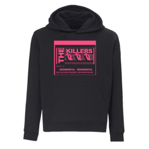 The Killers: Wonderful Wonderful Lyrics Hoodie