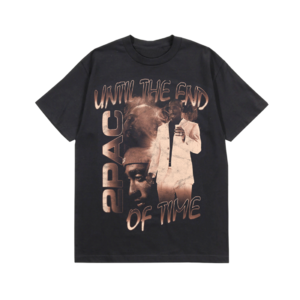 2Pac: UNTIL THE END OF TIME VINTAGE T-SHIRT