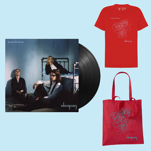 Whenyoung: Red Tee / Red Tote / LP Bundle