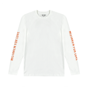 Lady Gaga: Mistaken Jeep Polaroid White Long Sleeve