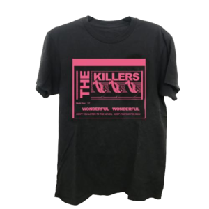 The Killers: Wonderful Wonderful Lyrics T-Shirt