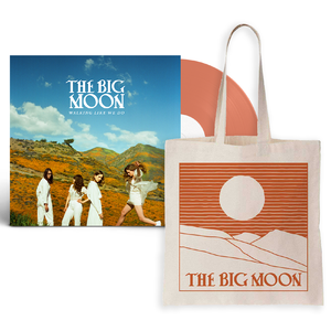 The Big Moon: Limited Edition Orange Vinyl + Tote Bag