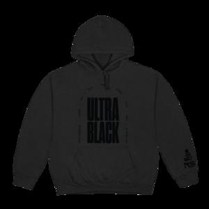 Nas: ULTRA BLACK TONAL HOODIE