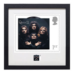 Queen: Framed Bohemian Rhapsody Print Enlargement and Stamp