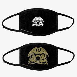 Queen: 2 Face Mask Crest Bundle