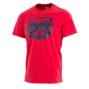 Professor Green: Honey Badger Camo T-shirt Ribbon Red
