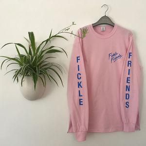 Fickle Friends: Pink Longsleeve