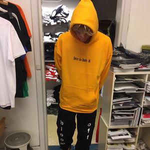 Off Bloom: Yellow Hoodie