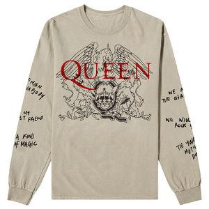 Queen: Handwritten Longsleeve T-Shirt