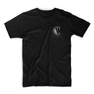 Wilkinson: Hypnotic Breast Print Black T-shirt