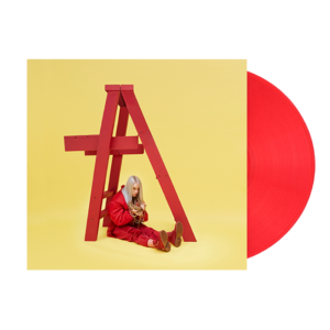 Billie Eilish: dont smile at me red vinyl
