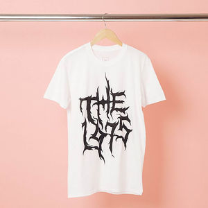 The 1975: Black Metal Logo T-Shirt