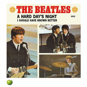 The Beatles: A HARD DAY'S NIGHT LITHOGRAPH