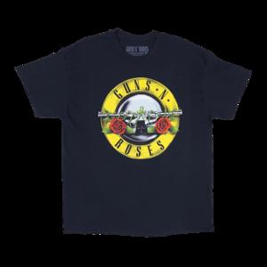 Guns N' Roses: 1987 OG Bullet Seal T Shirt