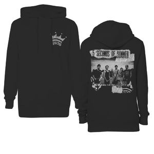 5 Seconds of Summer: Backstage Crown Hoodie