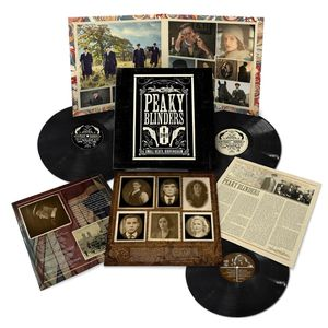 Various Artists: Peaky Blinders OST Series 1-5: Triple Vinyl & Exclusive Poster