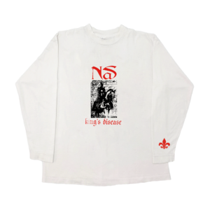 Nas: KING'S DISEASE SWORD LONGSLEEVE
