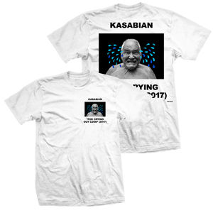 Kasabian: Album Cover T-Shirt White